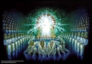 כס הכבוד וחיות הקודש